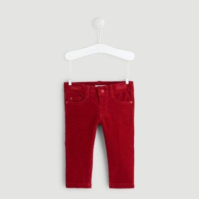 Mini Boden Bébé garçon-Pantalon velours rouge 3 6 9 12 18 24 Mois 2 3 4 ans velours