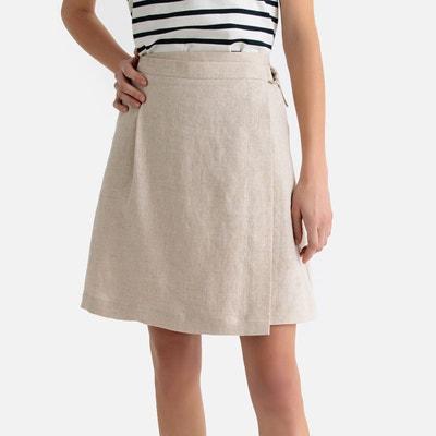 2a414cc47790 Jupe courte beige femme