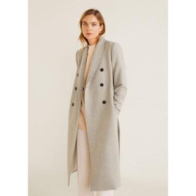 bda8b109a Manteau gris avec ceinture | La Redoute