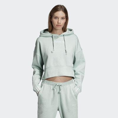 Sweat-shirt à capuche Coeeze Cropped adidas Originals 12c43364f35