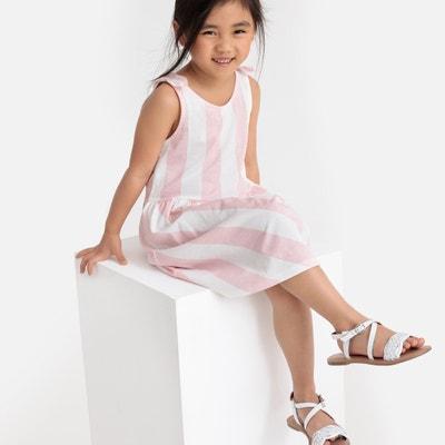 36478fec13 Striped Dress with Straps