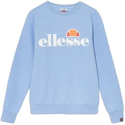 Sweat catria sweatshirt blanc bleu marine Ellesse | La Redoute