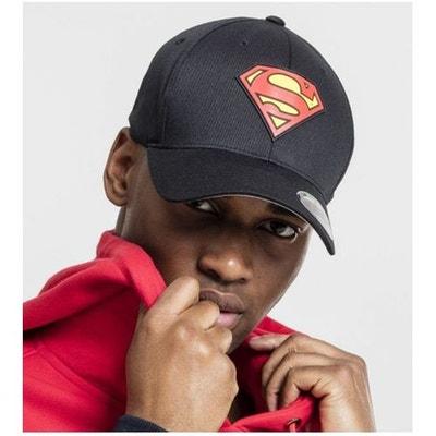 Casquette Incurvée Superman x Flexfit Noir Casquette Incurvée Superman x  Flexfit Noir MISTER TEE 383f273d991