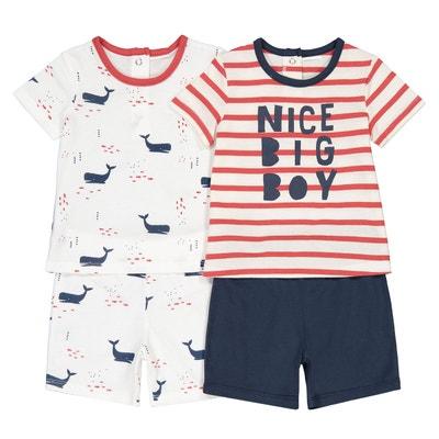 Bébé Garçons FOX Design Bleu marine /& orange coton layette TENUE /& Sac Cadeau Set