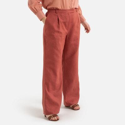 Pantalones Anchos De Mujer La Redoute