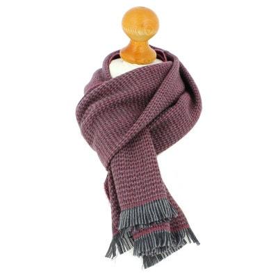 Echarpe en laine d Australie, 35x180cm, Rose. 0f19235b8e9