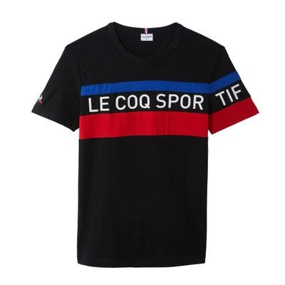 885c62f30b0 Crew Neck Short-Sleeved T-Shirt LE COQ SPORTIF