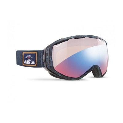 Masque de ski mixte JULBO Bleu TITAN Ecaille Bleu - Zebra Light Red JULBO 9d1dd3f0ac0d