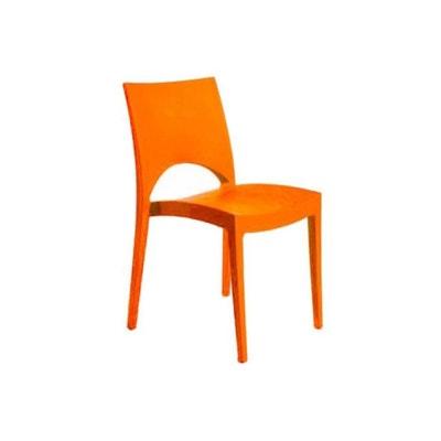 Chaise Design Orange NAPOLI DECLIKDECO