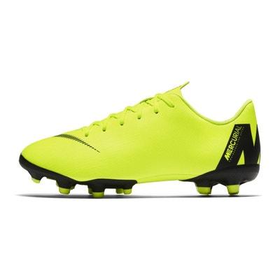 uk availability a3ddd 9158e Chaussures football Nike Mercurial Vapor XII Academy MG Jaune Junior NIKE
