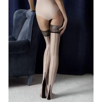 Bas couture autofixant voile 20 deniers LUST FIORE a0d71665c8d