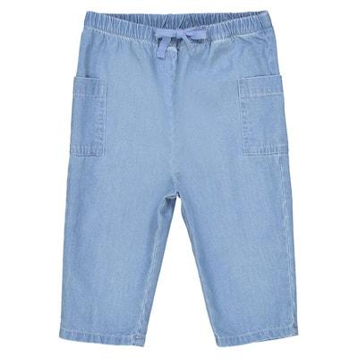 Pantalon denim léger 1 mois-3ans Pantalon denim léger 1 mois-3ans LA REDOUTE 418e7ac1bad