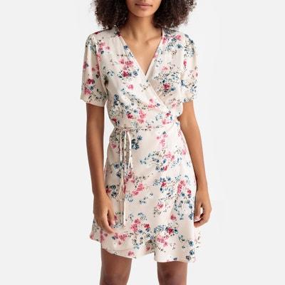 Robe portefeuille imprimé floral Robe portefeuille imprimé floral BEST MOUNTAIN