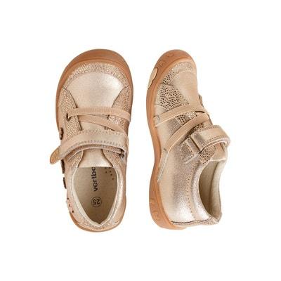 b3e55d0294e43 Chaussures basses cuir fille collection maternelle VERTBAUDET