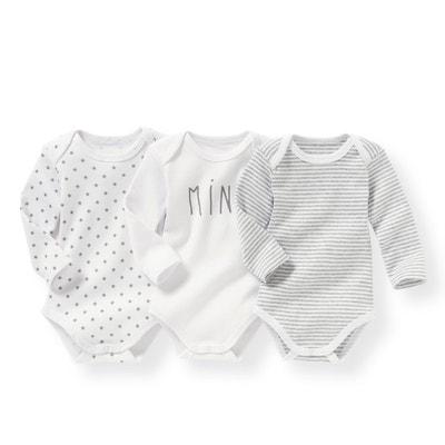 Confezione da 3 body bébé 0 mesi - 3 anni Confezione da 3 body bébé 0 2627bcac982