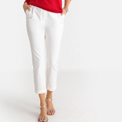 Blanc Blanc Droit Droit Redoute Droit Pantalon Pantalon FemmeLa Redoute FemmeLa Blanc Pantalon Y7y6Ibfgv