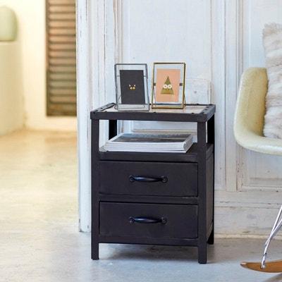 chevet industriel la redoute. Black Bedroom Furniture Sets. Home Design Ideas