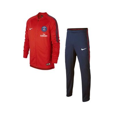 384ae94869d8d Survêtement PSG Squad Rouge/Bleu Junior NIKE