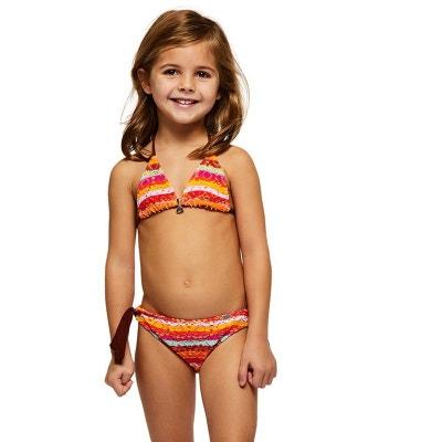 d3e3fa4f1c Maillot de bain Enfant 2 Pièces Triangle Bohosun Kiara Orange BANANA MOON