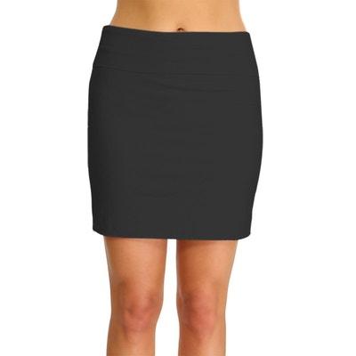 Jupe Noir Taille Elastique Femme La Redoute