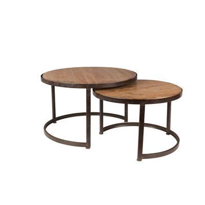 Table Basse Design Noir La Redoute