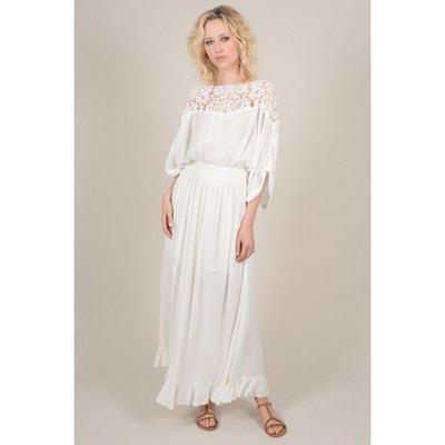 111b540aacb Robe longue à dentelle MOLLY BRACKEN
