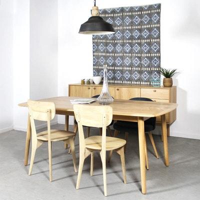 table a manger bois massif la redoute. Black Bedroom Furniture Sets. Home Design Ideas