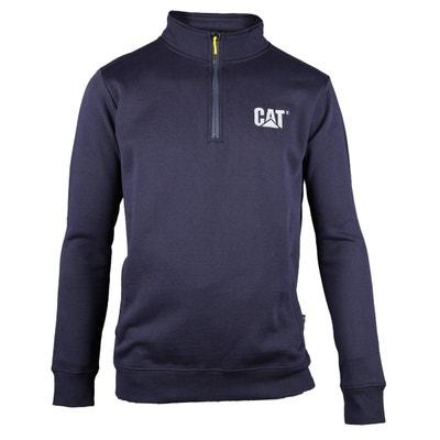 be74c727988 Sweat-shirt à col zippé CANYON Sweat-shirt à col zippé CANYON CATERPILLAR