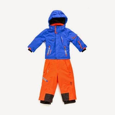 b406960927b8b Peak Mountain - Ensemble de ski ECOSMIC 3/8 ans-bleu/orange PEAK