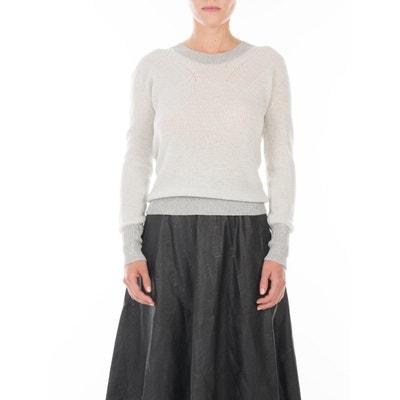 d9d836d95fa Petit pull en laine Merinos et maille Fil textile® col rond Venice Petit  pull en