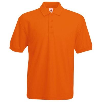 Polo orange homme | La Redoute