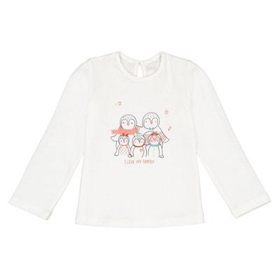 Bedrukt T-shirt met lange mouwen Bedrukt T-shirt met lange mouwen LA REDOUTE COLLECTIONS