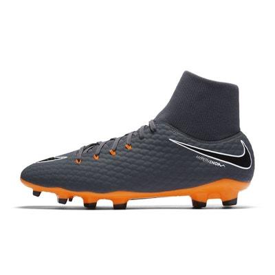 b652c3c70a2 Chaussures football Chaussure de Football Nike Hypervenom Phantom III  Academy DF FG Gris NIKE