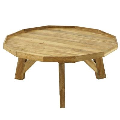 Table basse ronde en bois 90 cm Noldor Table basse ronde en bois 90 cm  Noldor 70dd239e1181