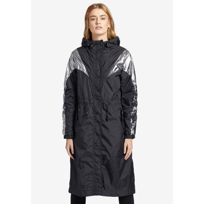 5b7fc8fd7d Manteau avec cordon de serrage sur la capuche SARAH Manteau avec cordon de  serrage sur la