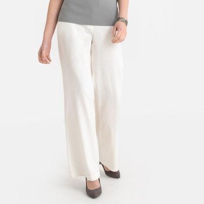 Pantalon Large, Lin Majoritaire Pantalon Large, Lin Majoritaire ANNE WEYBURN