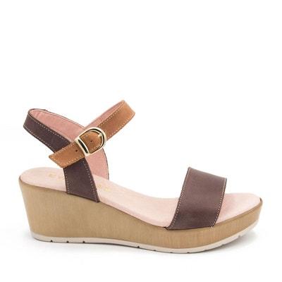 Femme D'étéLa En Redoute Cuir Chaussures 0Omw8nvN
