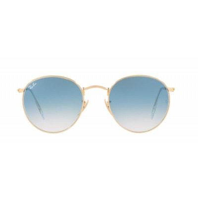 dfe4c17bed0529 Lunettes de soleil pour homme RAY BAN Bleu RB 3447N 001 3F 50 21