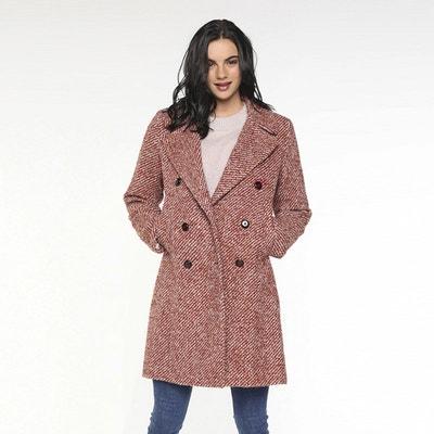 Manteau laine bouclee | La Redoute