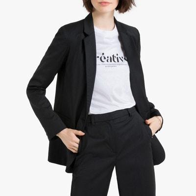 Veste en laine noire femme