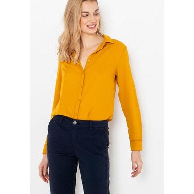 catch best website save off Chemise jaune moutarde   La Redoute