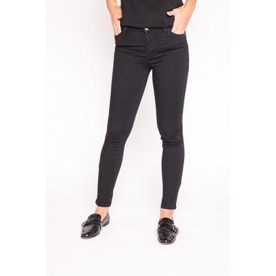 5f4b80acf30d6 Jeans slim taille haute délavé CACHE-CACHE