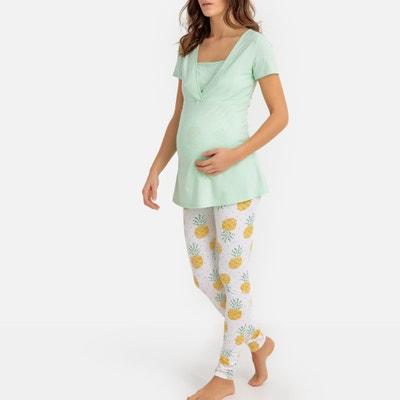 916b7038a Pijama para grávida e amamentação LA REDOUTE MATERNIDADE