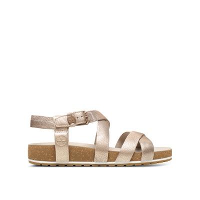 e3c8eecbc1e4 Malibu Waves Leather Sandals Malibu Waves Leather Sandals TIMBERLAND