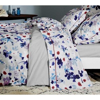 drap plat a fleurs la redoute. Black Bedroom Furniture Sets. Home Design Ideas
