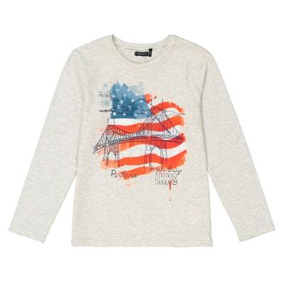 16a3653f8d651 Tee-shirt drapeau américain 3 - 14 ans Tee-shirt drapeau américain 3 -