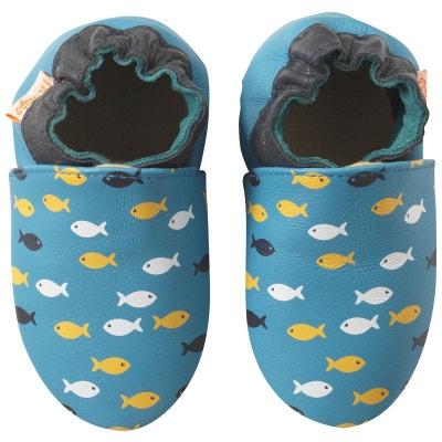 chaussures de séparation 6aa80 b4c95 Chausson en cuir enfant | La Redoute