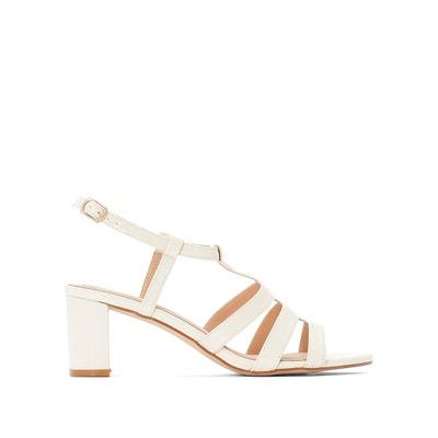 e294f506e1af9 Plain Patent Sandals Plain Patent Sandals ANNE WEYBURN