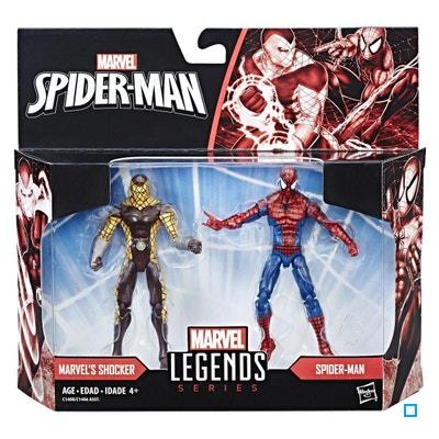 Marvel Legends - Spiderman - Modèle Aléatoire Pack de 2 Figurines 10 cm -  HASC1406EU40 HASBRO cdf3f23b42c