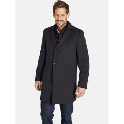 Manteau long homme laine | La Redoute